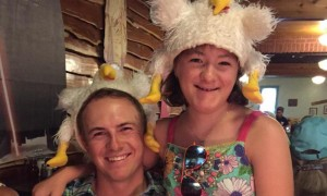 Jordan Spieth celebrates his 22nd birthday with sister, Ellie.