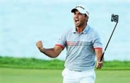 Jason Day Tip-Toes Into Torrey Pines -- Is He Pacing Himself?