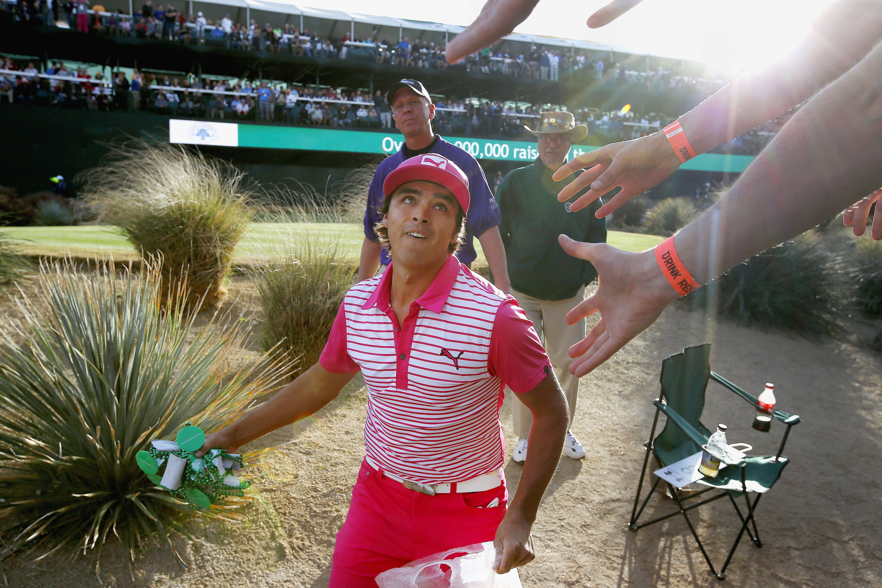 Let's Have A Party!  Phoenix Open's 16th Hole Brings Fun To The PGA Tour
