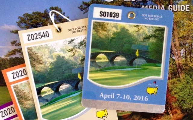 Did You Hear The One About The Masters Tickets?