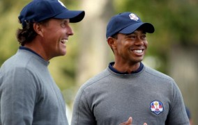 Ryder Cup Report:  Phil And Tiger Taking Over Team Room?