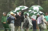 Rain Wipes Out Most Of Monday At The Masters