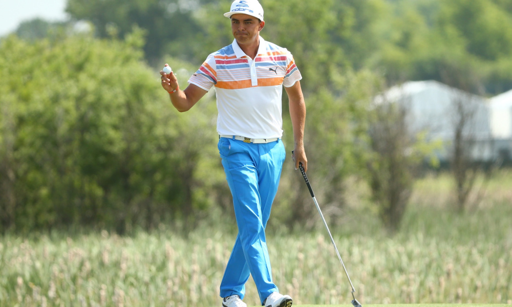 Rickie Fowler Makes It An Historical Day At U.S. Open