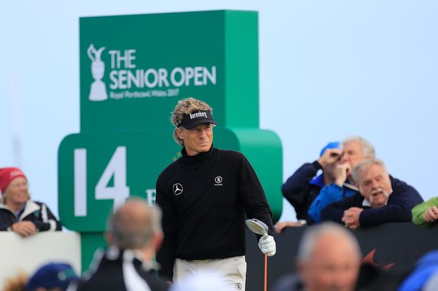 Bernie Thrives In Brutal Conditions At Senior Open