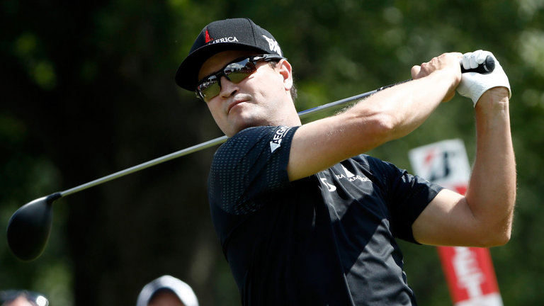 Finesse vs. Power:  Zach Johnson, Thomas Pieters Tied At Firestone
