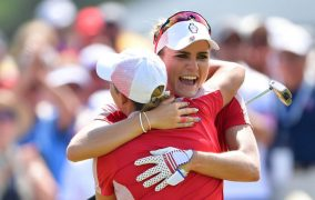 Solheim Cup Day 2:  USA Looks Unbeatable With Singles To Play