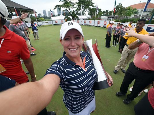 Cristie Kerr:  Forty Equals 20 Plus 10