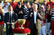 Presidents Cup Ends With A Presidential Celebration