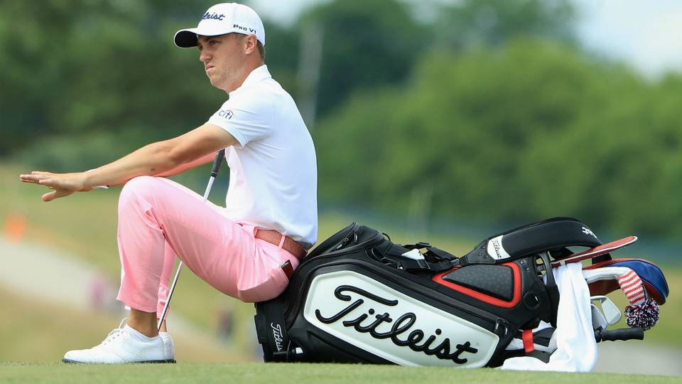 Justin Thomas Gets Back To Business Where It All Began Dog Leg News