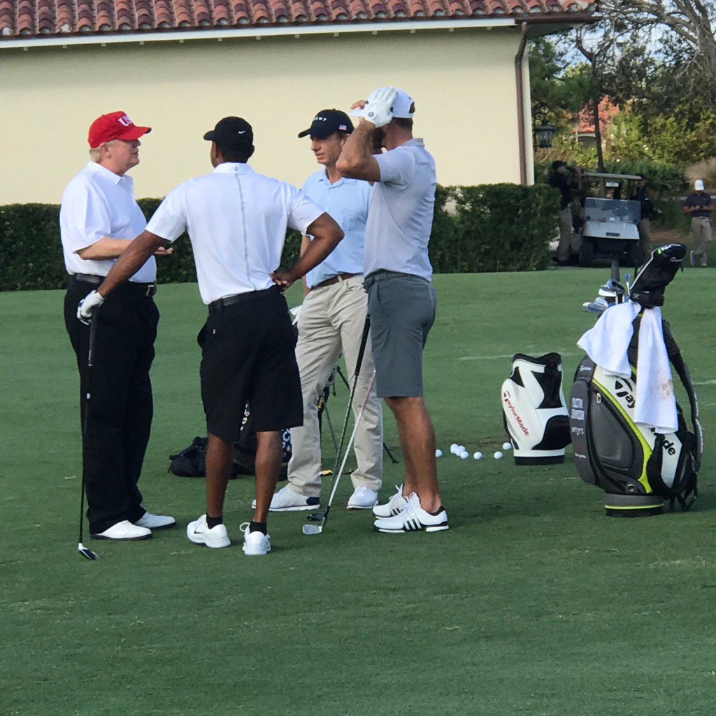 Trump, Tiger, D.J. And Jack -- Presidential Rank Hath Its Privileges