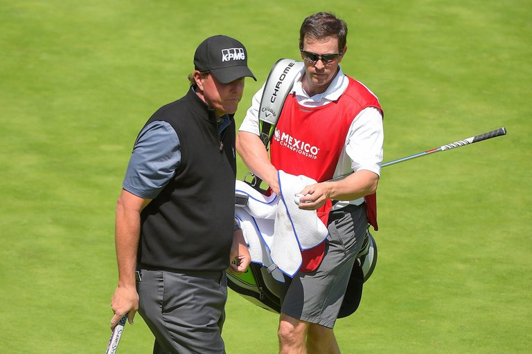 Tim Mickelson Goes Full-Time On Lefty's Bag