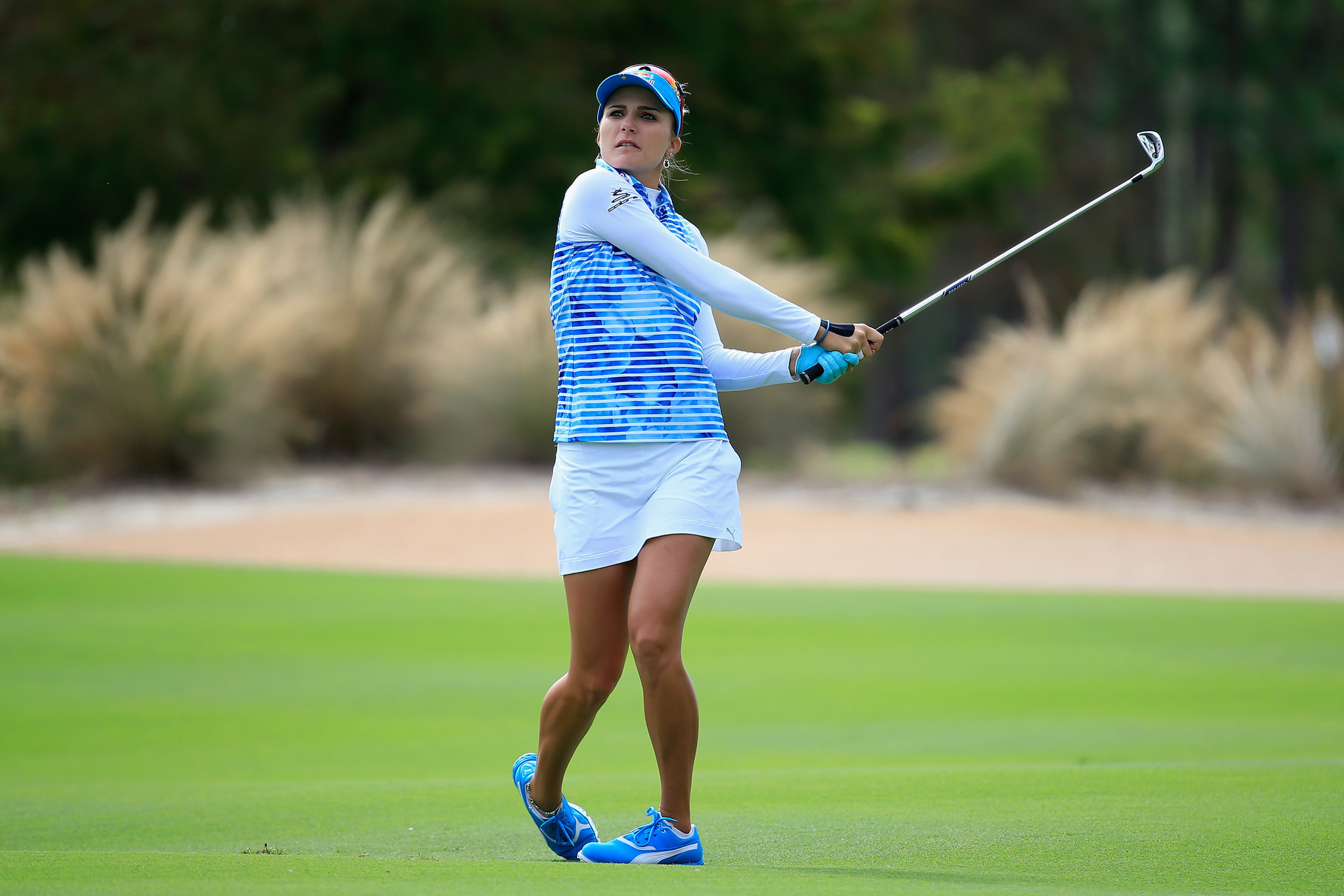 Lexi Thompson Adds Fun Factor To QBE Shootout