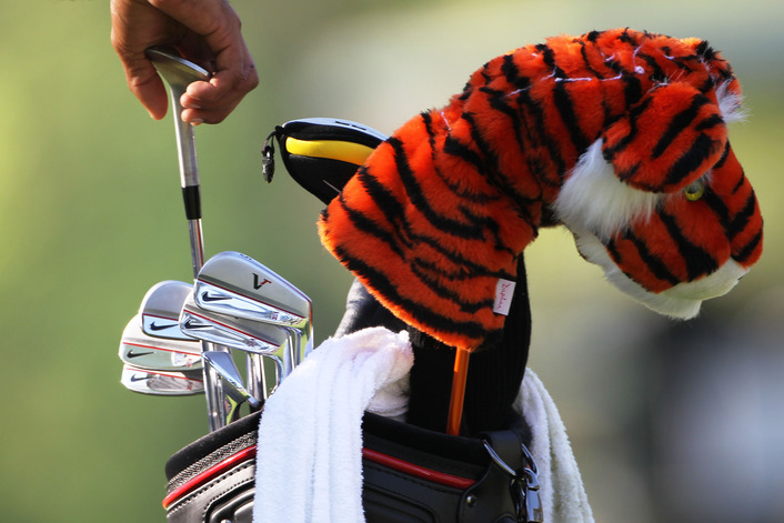 Tiger's Tools:  What's In The Monster Energy Bag?