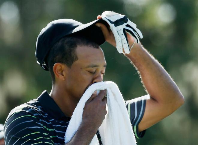 Tiger Woods Gone With The Wind On Moving Day