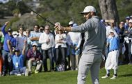 Dustin Johnson Poised At Pebble Beach