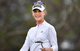 Jessica Korda Gets To 20-Under, Leads By Four