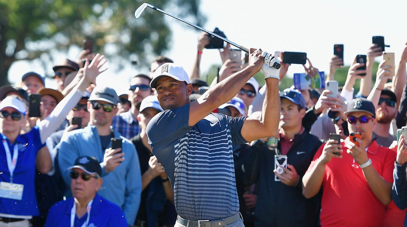 So You Think You Want To Go Follow Tiger Woods ..........
