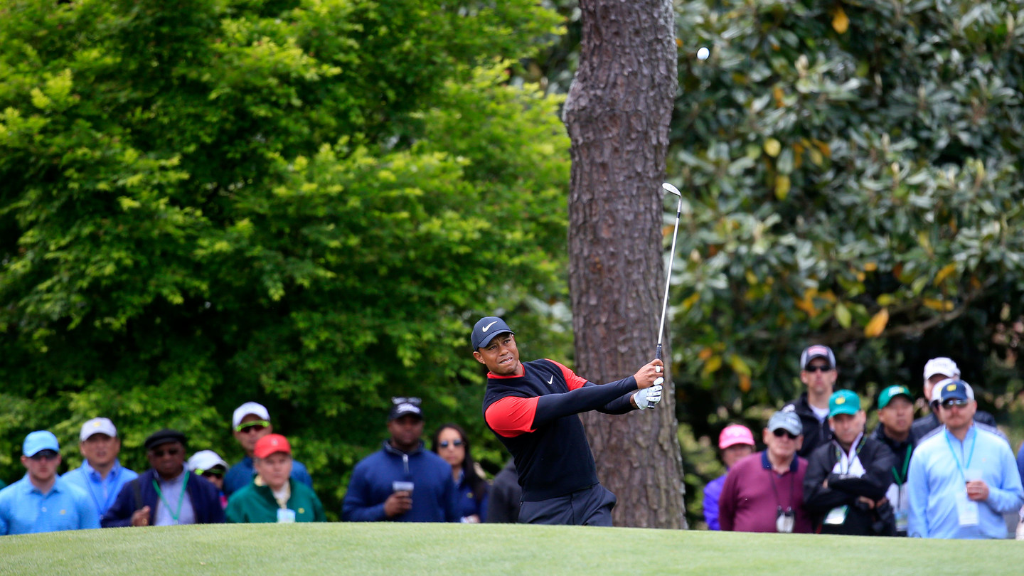 Tiger Woods A Shot Short Of Where He Wanted To Be