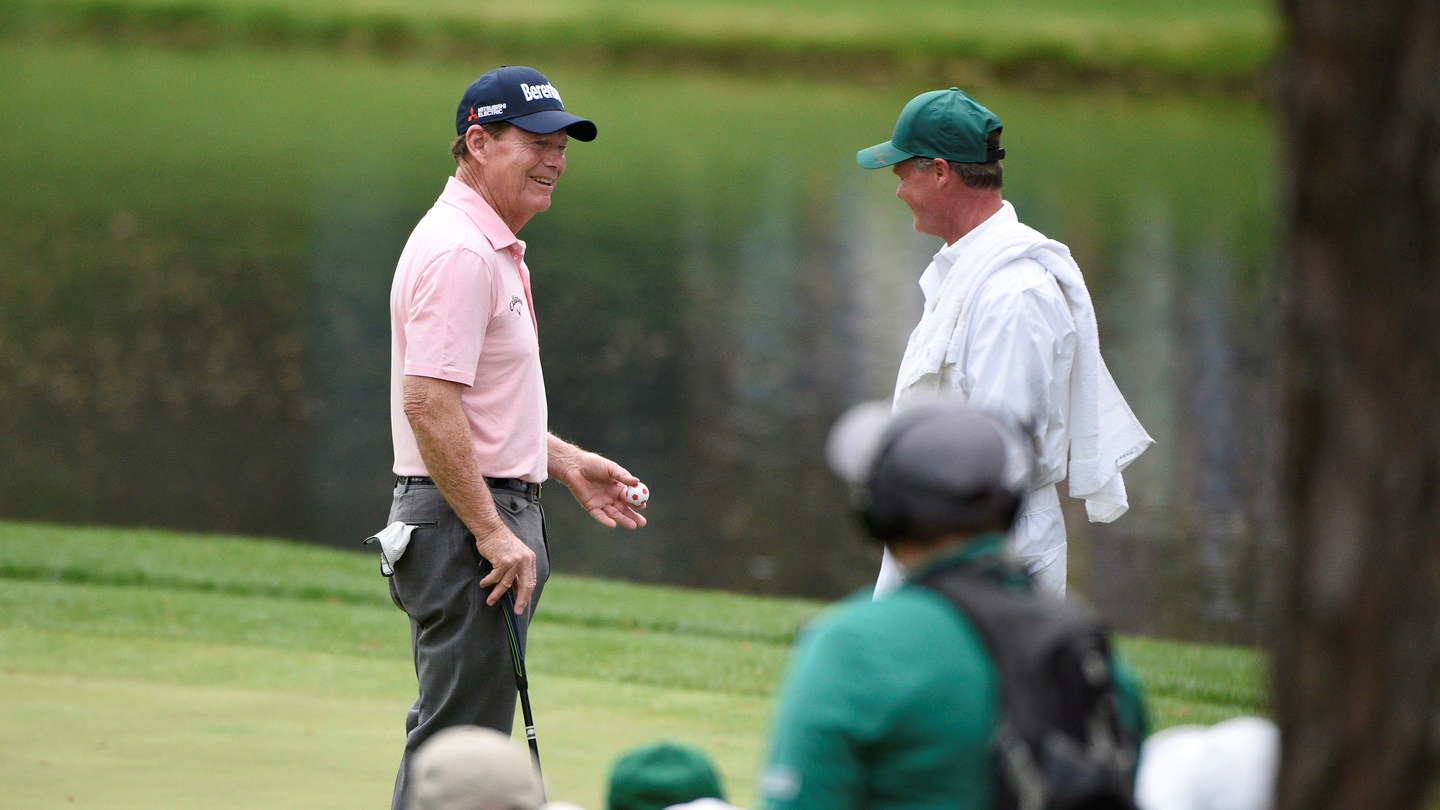 Watson, Nicklaus Rule At Masters Par Three