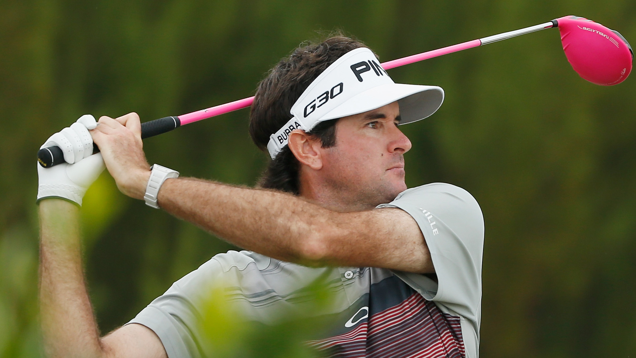 Harman Leads, Bubba Rallies At Travelers