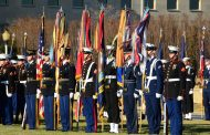 Military Tribute:  Pure Red White And Blue At The Greenbrier