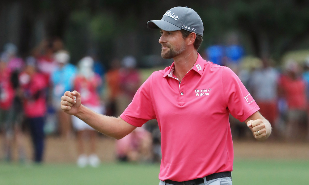 Wowie Webb!  Simpson Shoots 61 At Greenbrier