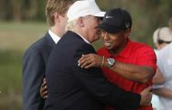 Tiger Woods Skillfully Escapes The Hazard That Is Politics
