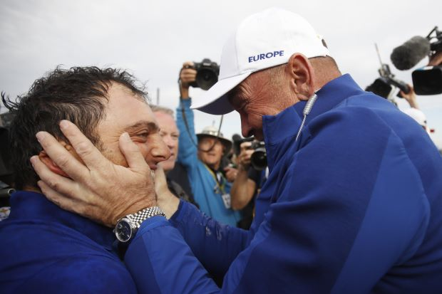 Five-And-Oh Francesco:  Molinari Makes European History
