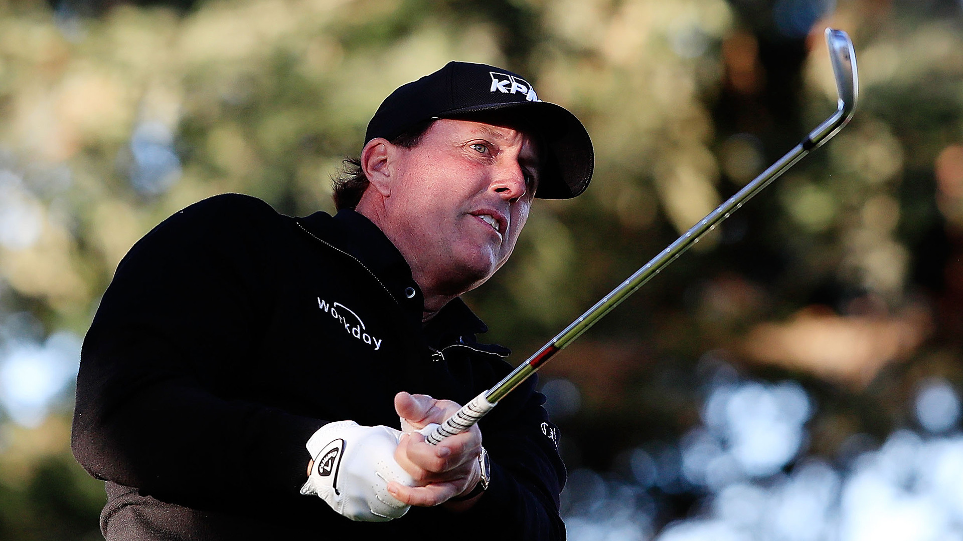 Phil Mickelson's Game Shows Up A Week Late