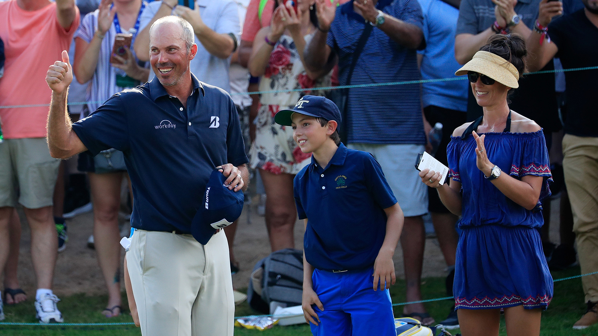 Matt Kuchar Holds On For That Nervous No. 8