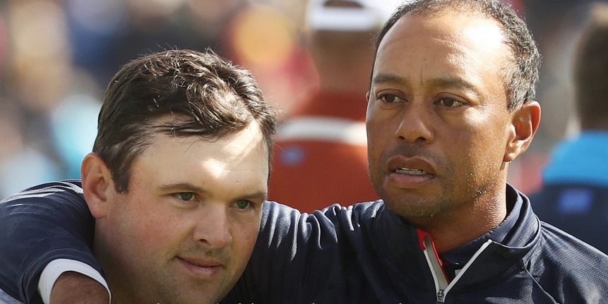 Tiger Woods Has A Chat With Malcontent Patrick Reed