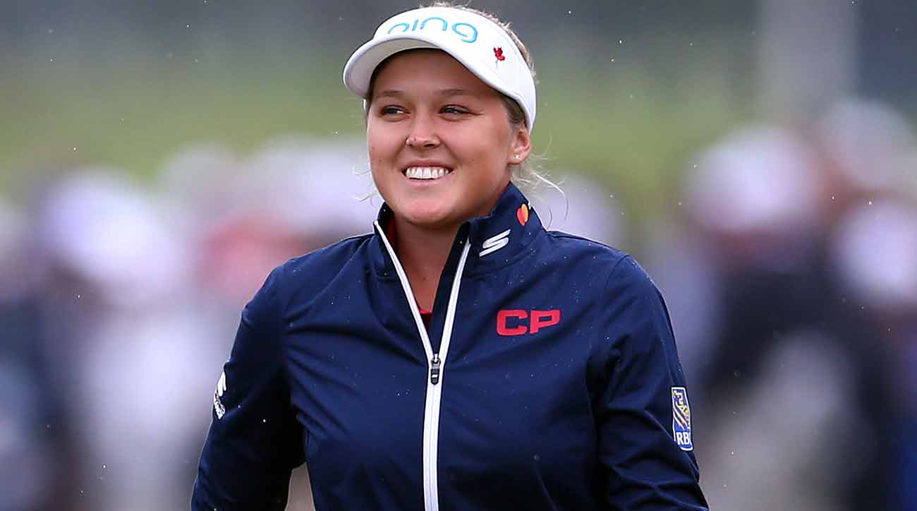 Oh Canada -- Brooke Henderson Is Their Top Women's Athlete