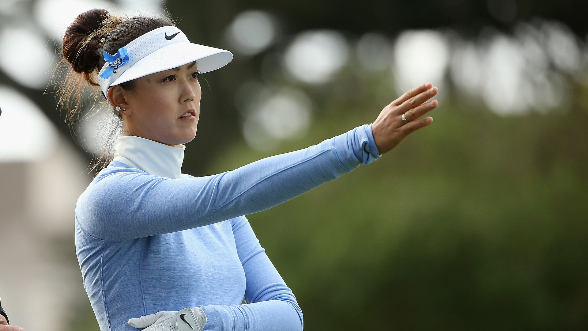 Michelle Wie Practicing Again After Wrist Surgery