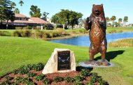 Bear-Trapped! -- Ernie Els Shoots 66 Despite The Honda's 15th