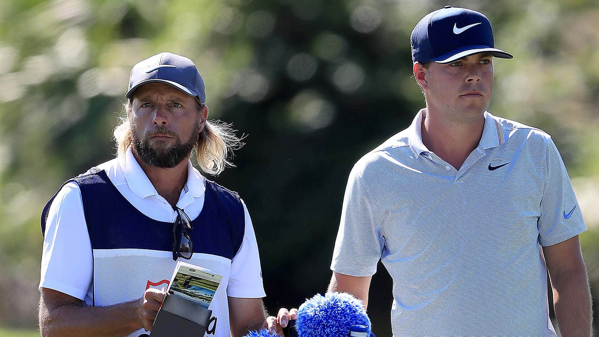 Keith Mitchell's Caddie Getting The Most Attention?