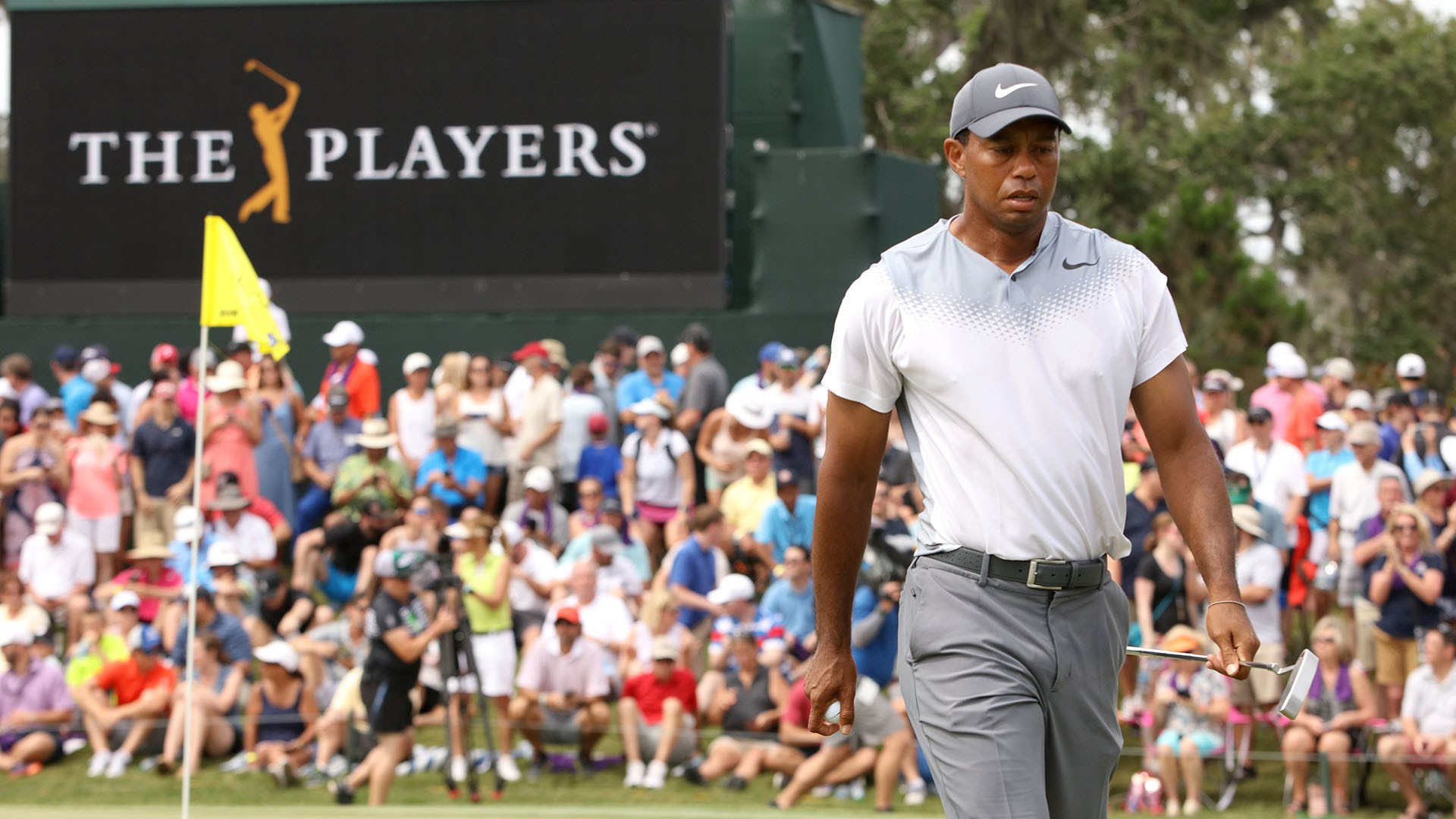 Tiger Woods Misses His Big Moment At The Players.