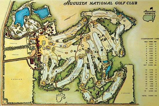 Augusta National Golf Club:  What's It Worth?  Try $177 Million And Change