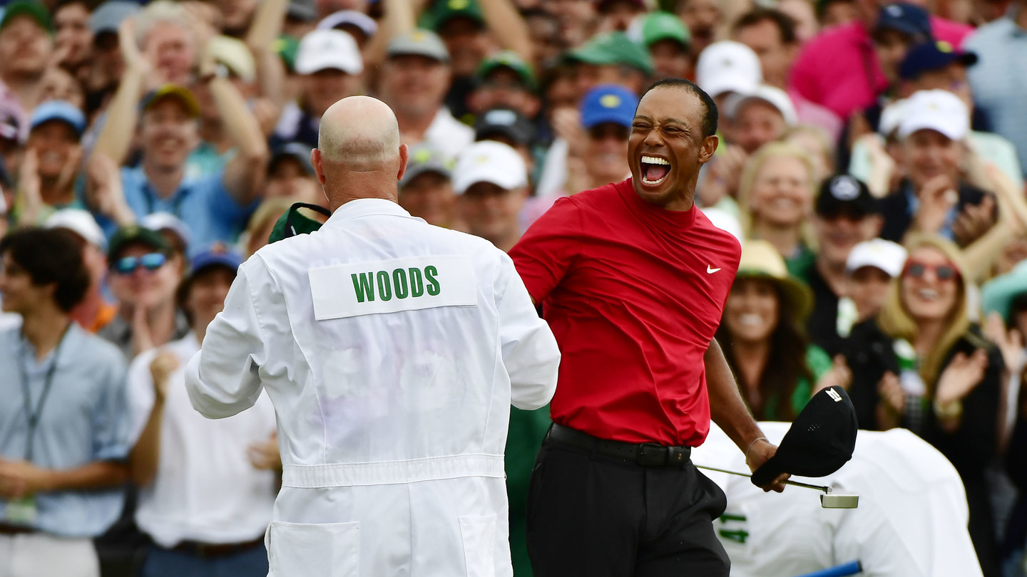 Tiger Woods Restores The Roar -- Masters Magic And A Fifth Green Jacket