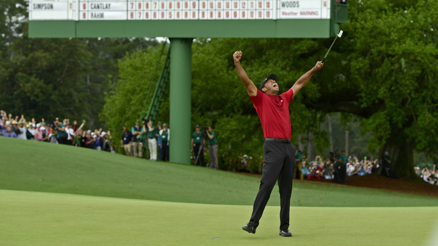Masters Breakfast With Tiger Woods A Huge Ratings Success