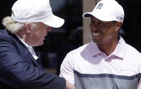 The Donald Loves Tiger And Will Make Him The Medalist