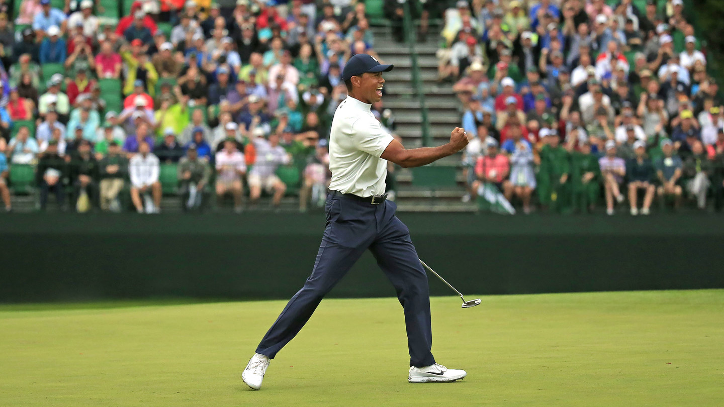 The Masters Halfway:  Five Leaders And Tiger's Just One Back