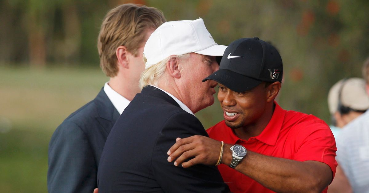 Tiger And Trump:  White House Rendezvous On Monday
