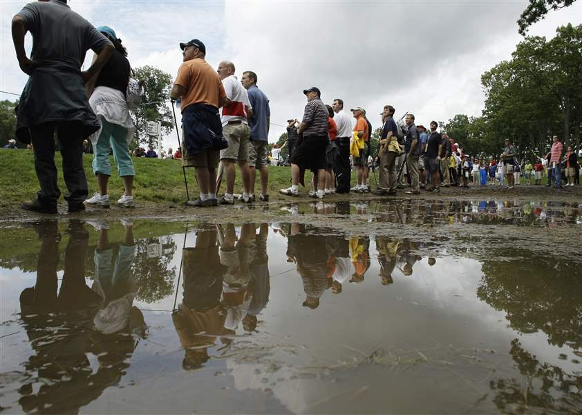 101st PGA Championship:  Wet Turf At Bethpage? Nothing's New