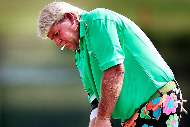 John Daly:  Too Fat, Too Old, Too Unhealthy To Walk At PGA