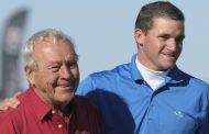 Honoring Arnie:  Sam Saunders Has First Ball In Air At Pebble Beach