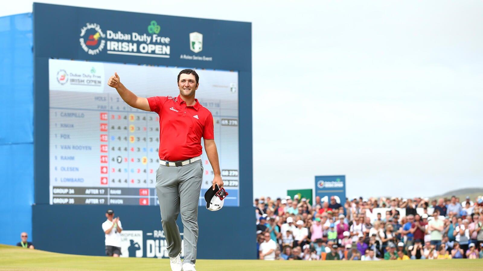 Rahm Runs 'Em Down, Wins Another Irish Open