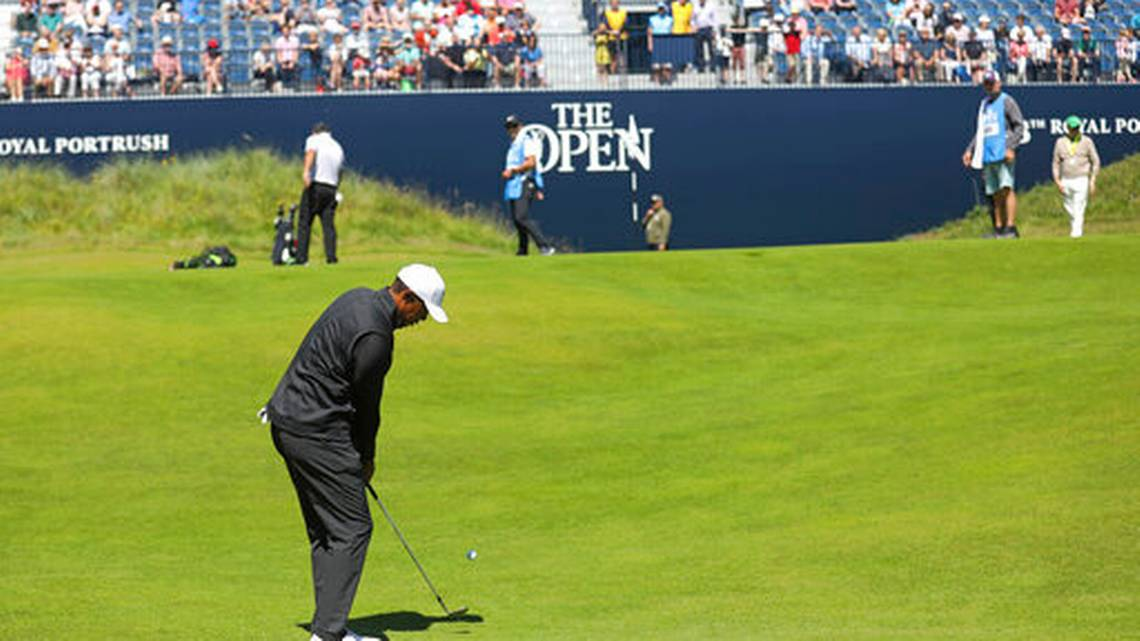 Big Choke In Scotland;  Tiger Lands Then Plays At Portrush