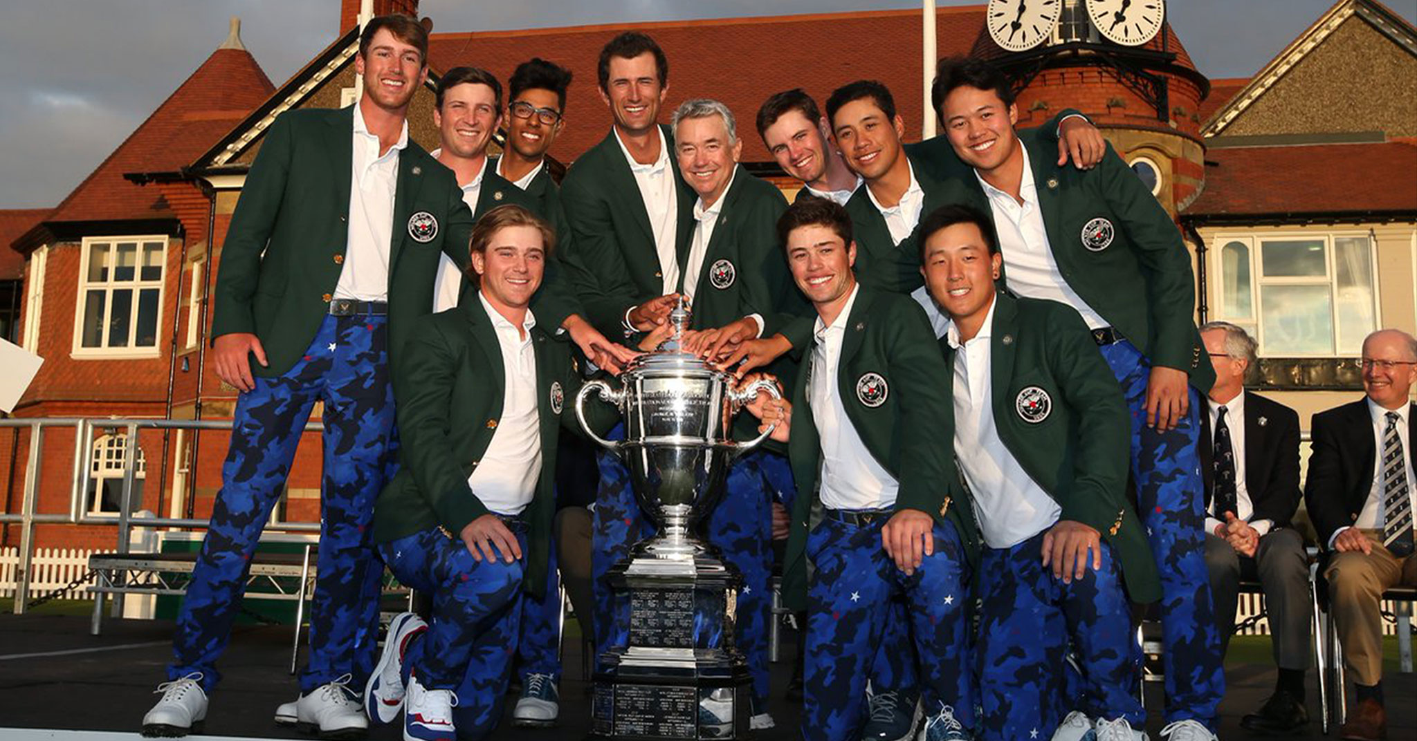Nathaniel Crosby Brings Home The Walker Cup