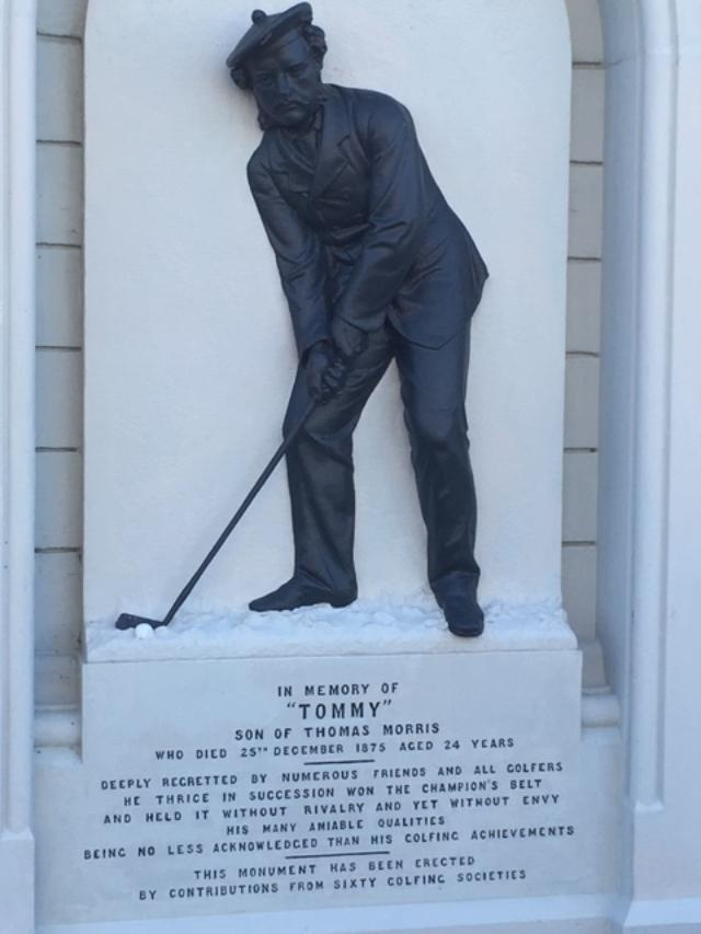 Honouring Tommy:  We Pay Tribute To Young Tom Morris