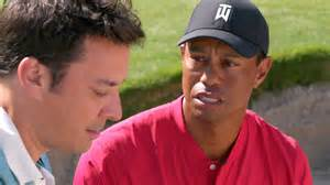 Tiger Woods Meets Jimmy Fallon -- This One's Hilarious!